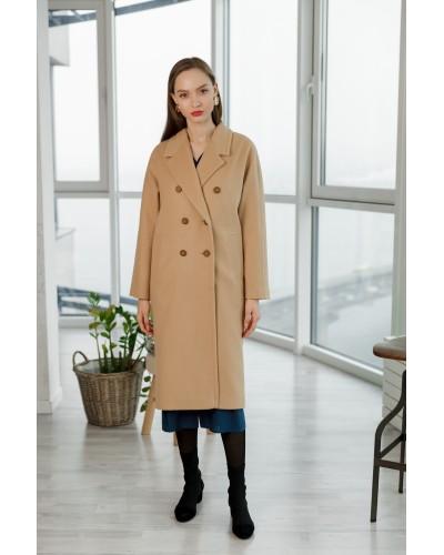 Демісезонне пальто camel 20-170-758