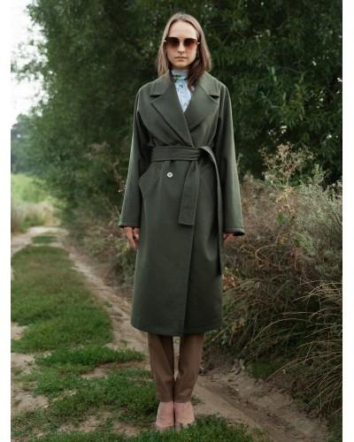 Демісезонне пальто прямого крою