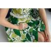 Сукня-годе з рослинним принтом 30-235-8