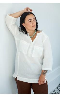 Біла сорочка 30-273-707