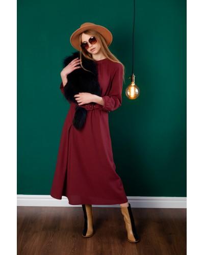 Бордове плаття 30-314-961