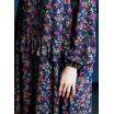 Платье с рюшами длинное 77-288-646