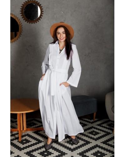 Біла сукня в підлогу 77-339-702