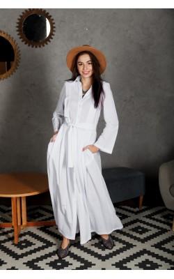 Біла сукня в підлогу 77-339-718