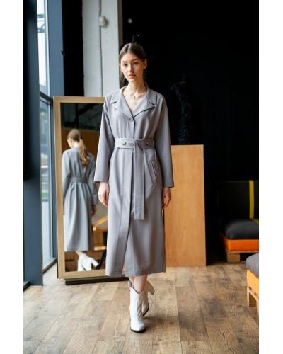 Сіра сукня 77-380-752