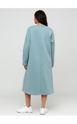 Універсальне м'ятне плаття міді з начосом