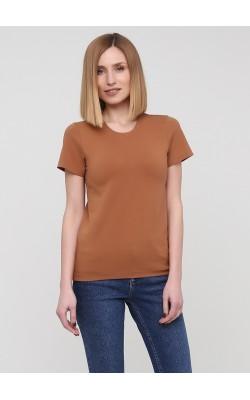Класична футболка кольору кемел
