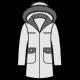 Пальто з утеплювачем